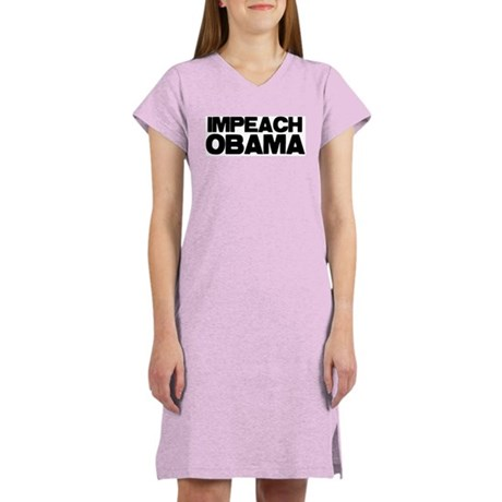 Impeach Obama Women's Nightshirt