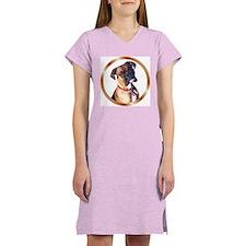 Boxer Dog Women's Nightshirt