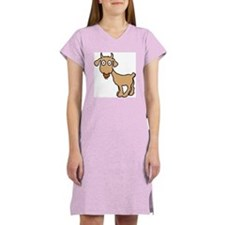 Cute Billy Goat Women's Nightshirt