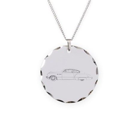 Buick Dynaflow 1949 Necklace Circle Charm
