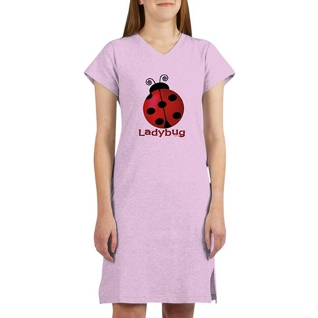 Cute Ladybug Women's Nightshirt