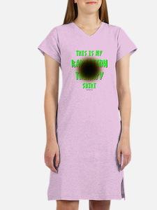 My Radiation Therapy Women's Nightshirt