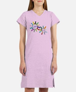 Hope For A Cure Women's Nightshirt