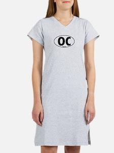 OC - Orange County Women's Pink Nightshirt