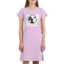 Tao of Meow: Women's White Nightshirt