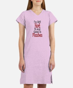 Hot Flashes Women's Nightshirt