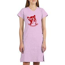 Boston Terrier Icon Women's light Nightshirt