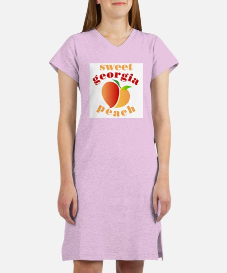 Sweet Georgia Peach Women's Nightshirt