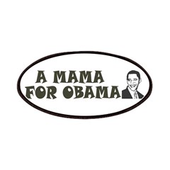 A Mama for Obama Patches