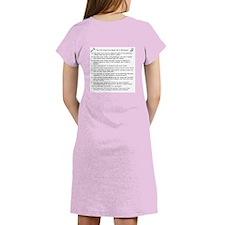 Cute Scientist Women's Nightshirt