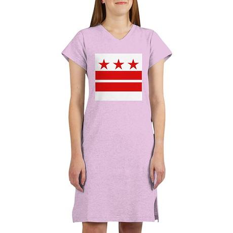 Three Stars and Two Bars Women's Nightshirt