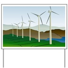 Wind Turbine Generator Yard Sign
