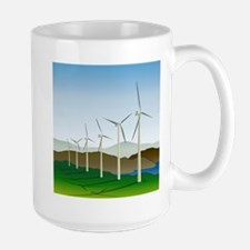 Wind Turbine Generator Mug