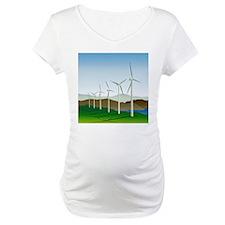 Wind Turbine Generator Shirt
