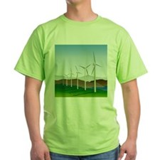 Wind Turbine Generator T-Shirt