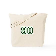 Number 90 Tote Bag