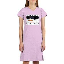 Nothin' Butt Schipperkes Women's Pink Nightshirt