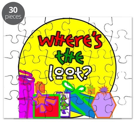Where's the Loot? Puzzle