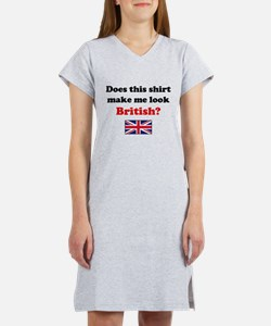 Make Me Look British Women's Nightshirt
