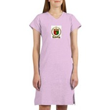 BOURQUE Family Crest Women's Nightshirt