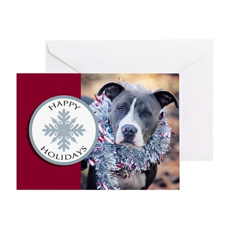 StubbyDog Happy Holidays Greeting Card