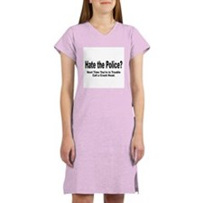 HATE POLICE? Women's Nightshirt