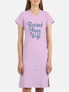 Cute Retired wife Women's Nightshirt