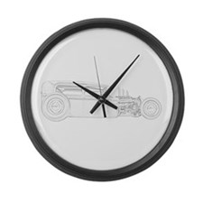 Ford 1930 Rat Rod Large Wall Clock