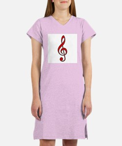 Old-Timey Music Women's Nightshirt