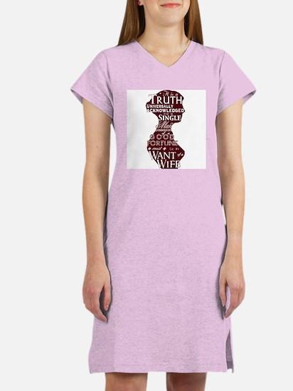 Jane Austen Quote Women's Nightshirt