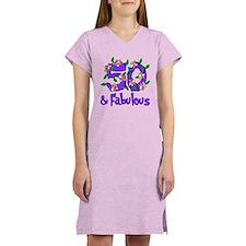 50 and Fabulous Women's Nightshirt