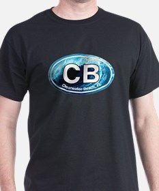 CB Clearwater Beach Wave T-Shirt
