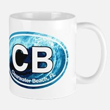 CB Clearwater Beach Wave Mug