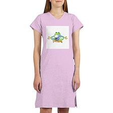 Meditating Frog Women's Nightshirt
