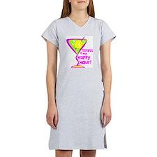 Tennis Happy Hour Women's Nightshirt