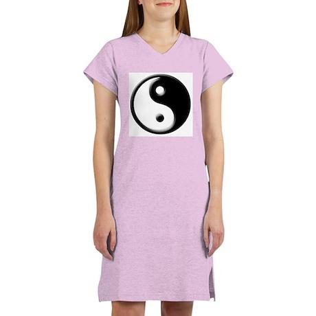 """JingJang"" Women's Nightshirt (white)"