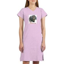 bunny lover Women's Nightshirt