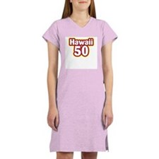 Hawaii 50 Women's Pink Nightshirt