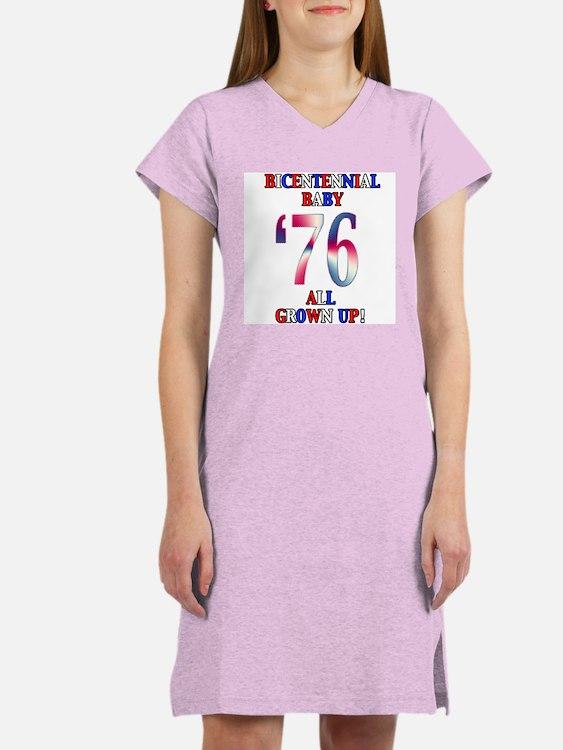 Bicentennial Baby All Grown Up! Women's Nightshirt