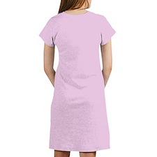 """Poodle in Pink"" Women's Nightshirt"