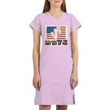We're gonna free the shit out Women's Nightshirt