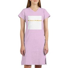 Really Mexican Back Icon Women's Nightshirt