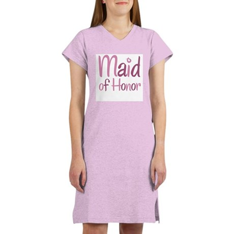 Cool Country Maid of Honor Women's Nightshirt