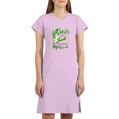 #1 IRISH NANA Women's Nightshirt