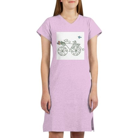 Garden Bike Women's Nightshirt
