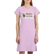 Resist Ignorance Women's Pink Nightshirt