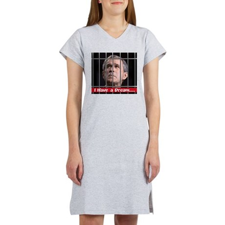 I Have a Dream Women's Pink Nightshirt