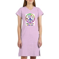 Celebrate Diversity Women's Pink Nightshirt