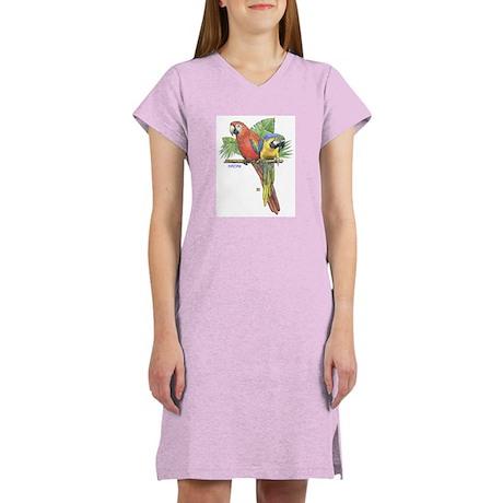 Tropical Macaws Women's Nightshirt
