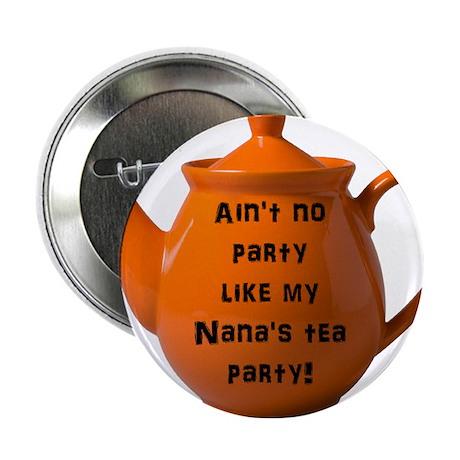 "Tea Party 2.25"" Button (100 pack)"
